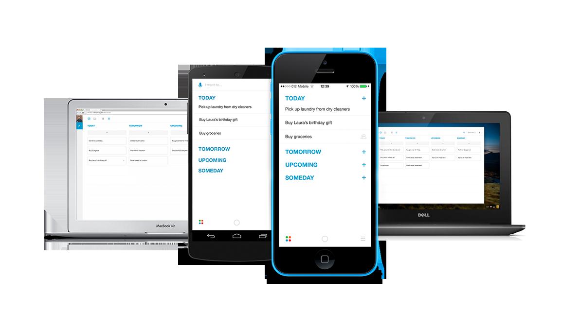 Any.do 2.0 task list and productivity app